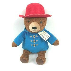 Paddington Bear Plush Teddy Bear Stuffed Animal